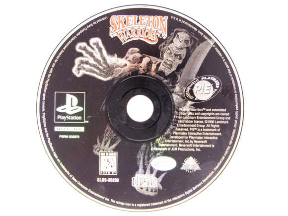 Skeleton Warriors (Playstation / PS1)