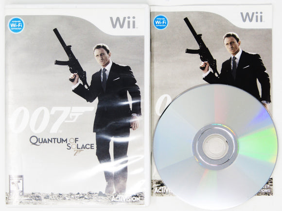 007 Quantum of Solace (Wii)