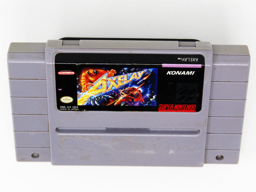 Axelay (Super Nintendo / SNES)