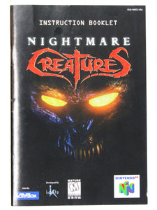 Nightmare Creatures (Nintendo 64 / N64)