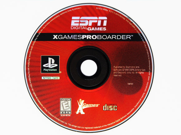 ESPN X Games Pro Boarder (Playstation / PS1)