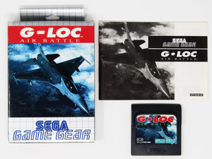 G-Loc Air Battle (PAL) (Game Gear)