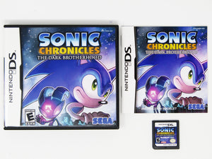 Sonic Chronicles The Dark Brotherhood (Nintendo DS)