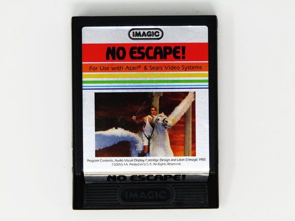 No Escape! [Picture Label] (Atari 2600)