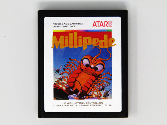 Millipede [Silver Label] (Atari 2600)