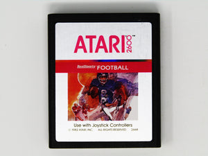 RealSports Football [Silver Label] (Atari 2600)