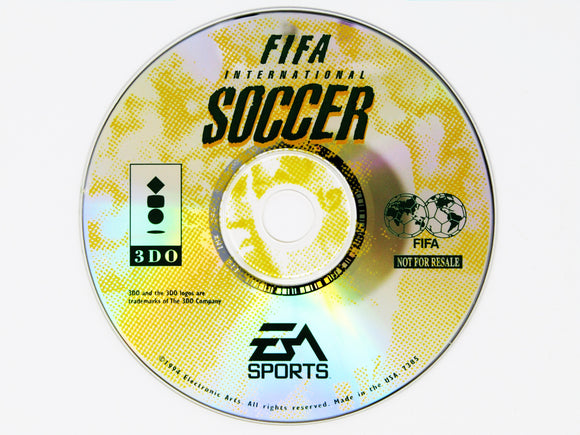 FIFA International Soccer (3DO)