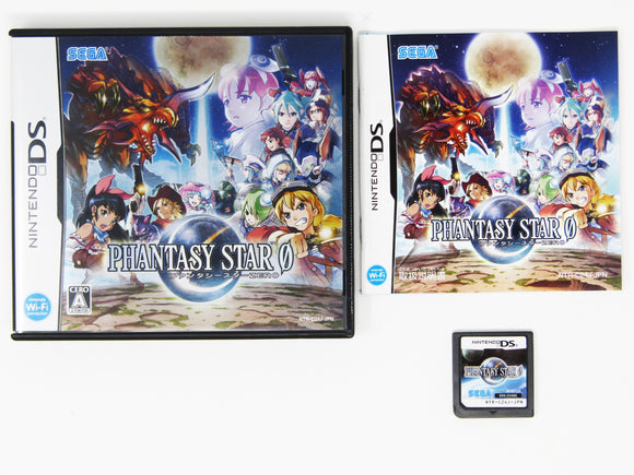 Phantasy Star 0 (JP Import) (Nintendo DS)