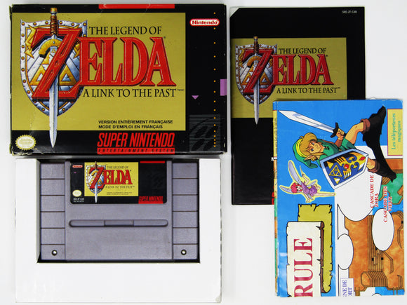 Zelda Link to the Past (French Version) (Super Nintendo / SNES)