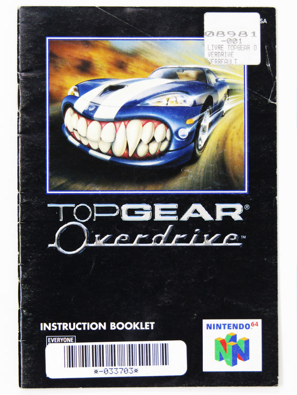 Top Gear Overdrive (Nintendo 64 / N64)