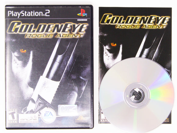007 GoldenEye Rogue Agent (Playstation 2 / PS2)
