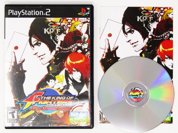 King of Fighters Collection The Orochi Saga (Playstation 2 / PS2)
