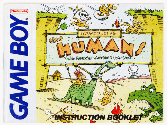 The Humans (Game Boy)