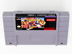 Street Fighter II 2 Turbo (Super Nintendo / SNES)