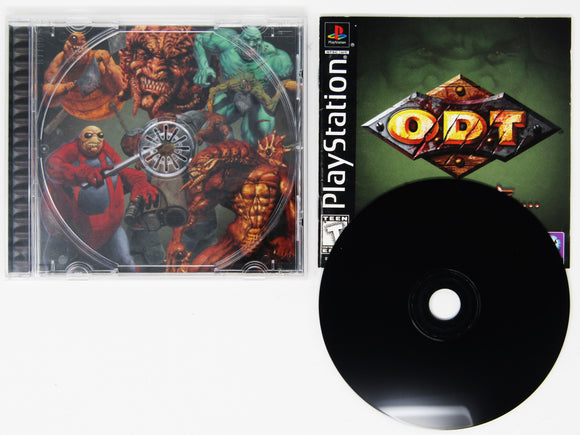 ODT Escape or Die Trying (Playstation)