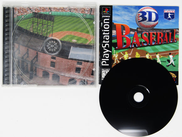 3D Baseball (Playstation / PS1)