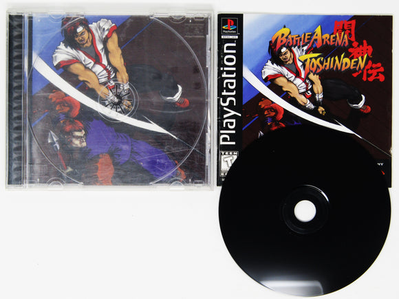 Battle Arena Toshinden (Playstation / PS1)