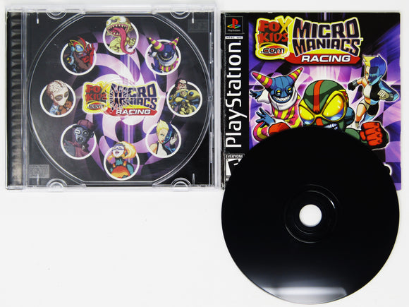 Micro Maniacs Racing (Playstation / PS1)