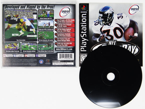 NFL GameDay 2000 (Playstation / PS1)