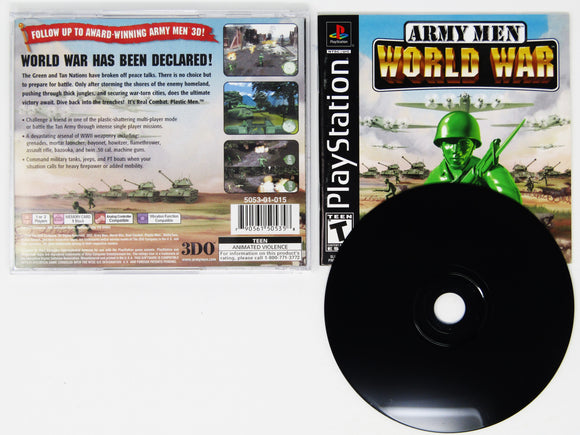 Army Men World War (Playstation / PS1)