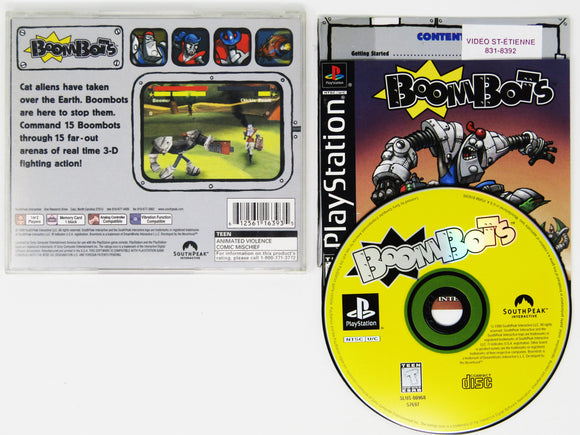 Boombots (Playstation / PS1)