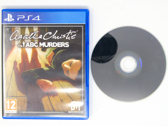Agatha Christie: The ABC Murders [PAL] (Playstation 4 / PS4)