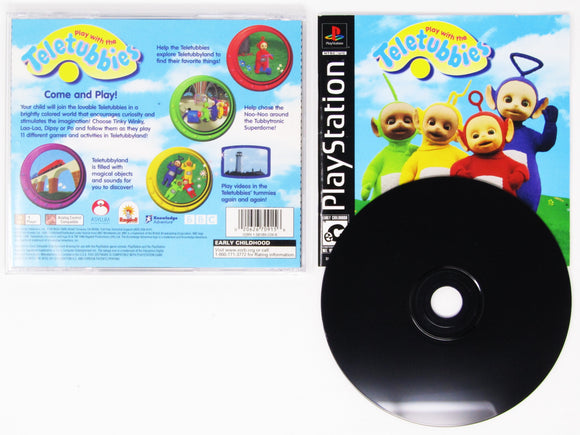 Play With the Teletubbies (Playstation / PS1)