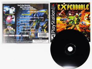 Expendable (Playstation / PS1)