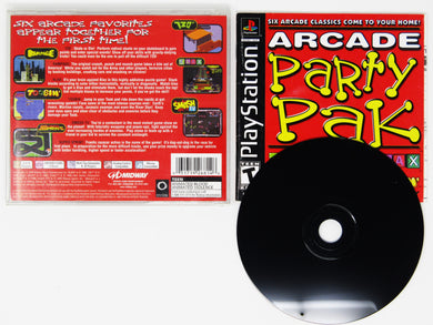 Arcade Party Pak (Playstation / PS1)