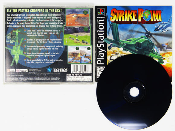 Strike Point (Playstation / PS1)