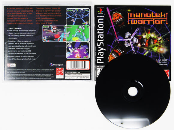 Nanotek Warrior (Playstation / PS1)