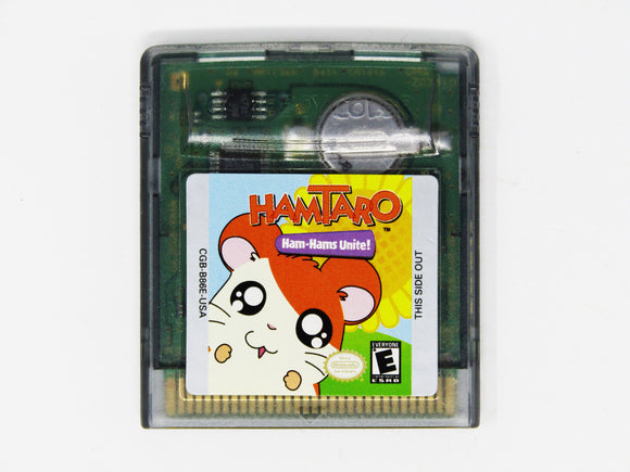 Hamtaro Ham-Hams Unite! (Game Boy Color)