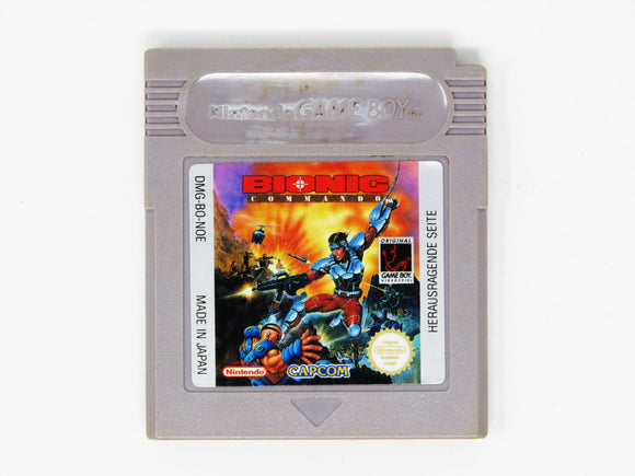 Bionic Commando (PAL) (Game Boy)