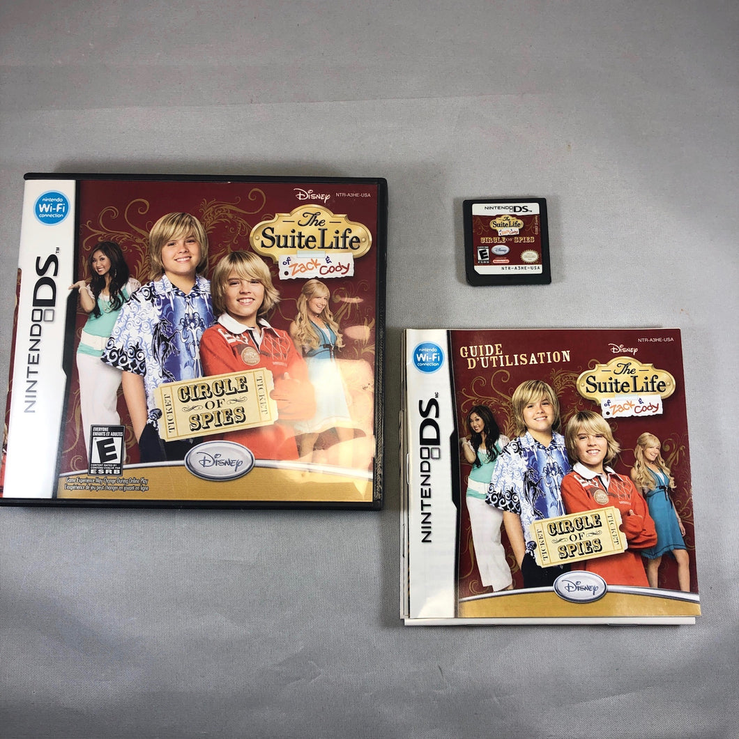 Suite Life Of Zack and Cody Circle of Spies (Nintendo DS)