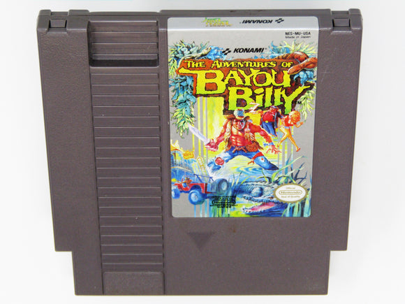 Adventures of Bayou Billy (Nintendo / NES)