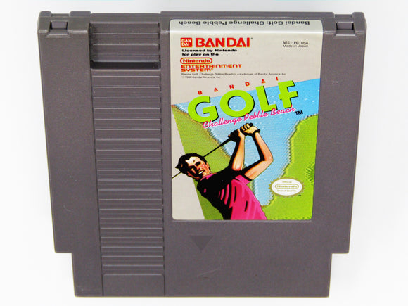 Bandai Golf Challenge Pebble Beach (Nintendo / NES)