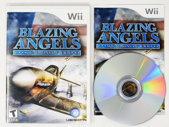 Blazing Angels Squadrons of WWII (Nintendo Wii)