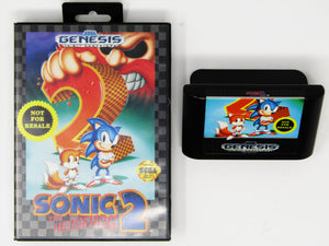 Sonic The Hedgehog 2 [Not for Resale] (Genesis)