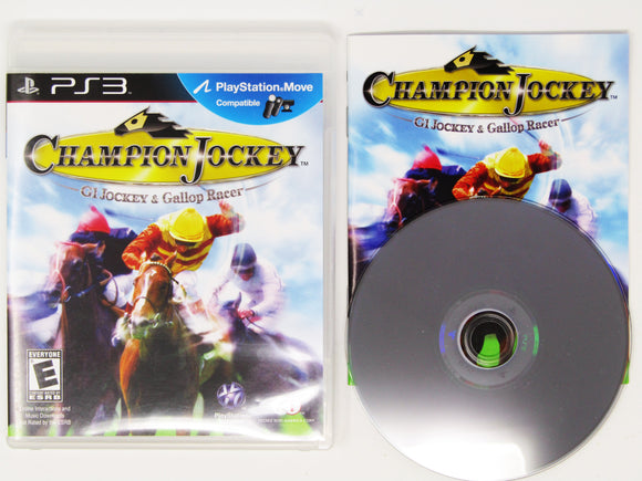 Champion Jockey: G1 Jockey & Gallop Racer (Playstation 3 / PS3)