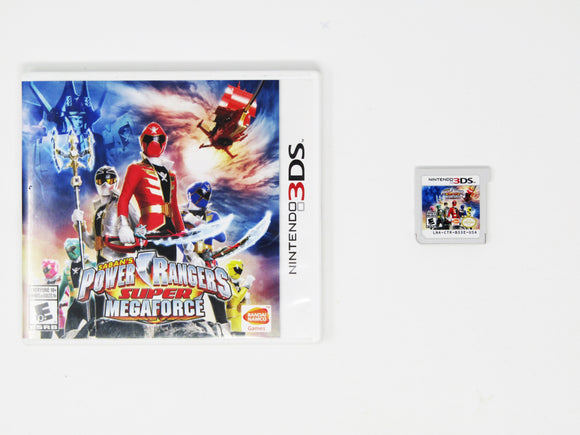 Power Rangers Super Megaforce (Nintendo 3DS)