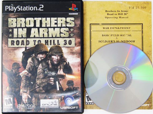 Brothers In Arms Road To Hill 30 (Playstation 2 / PS2)