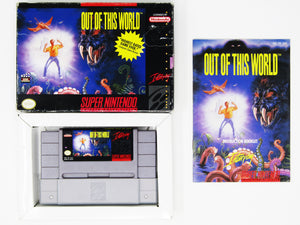 Out of This World (Super Nintendo / SNES)