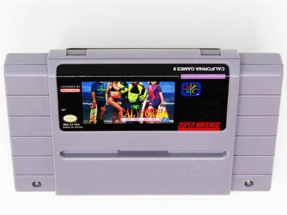 California Games II 2 (Super Nintendo / SNES)