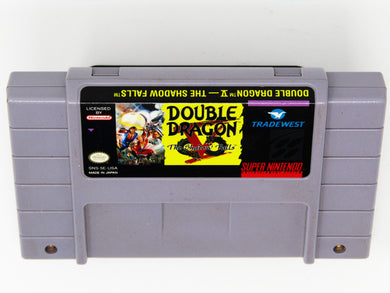 Double Dragon V The Shadow Falls (Super Nintendo / SNES)