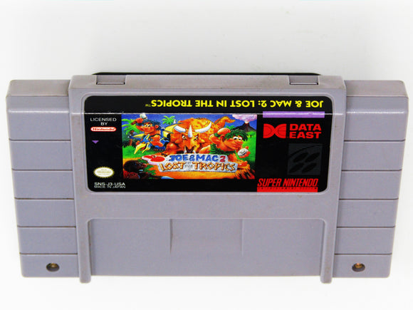 Joe and Mac 2 Lost in the Tropics (Super Nintendo / SNES)