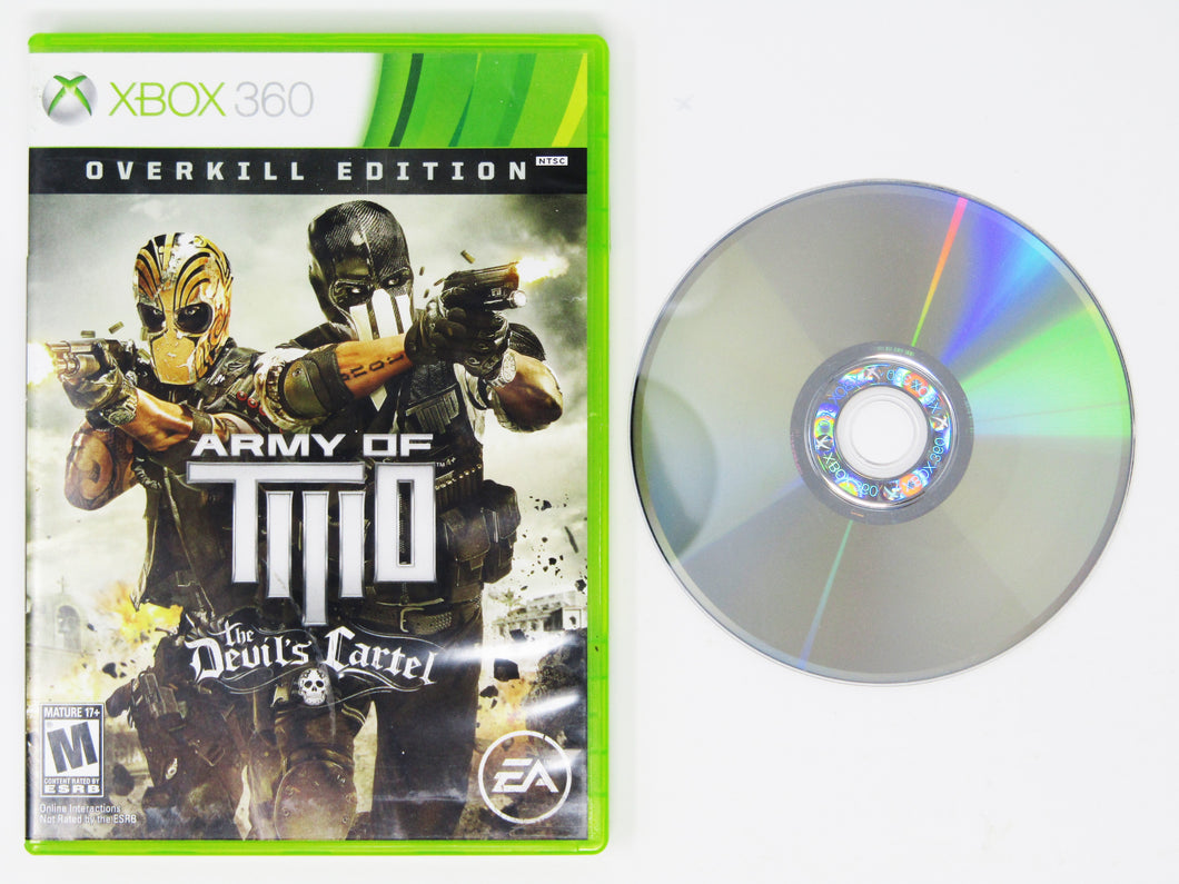 Army of Two The Devil's Cartel [Overkill Edition] (Xbox 360)