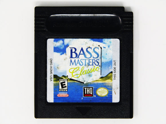 Bassmasters Classic (Game Boy Color / GBC)