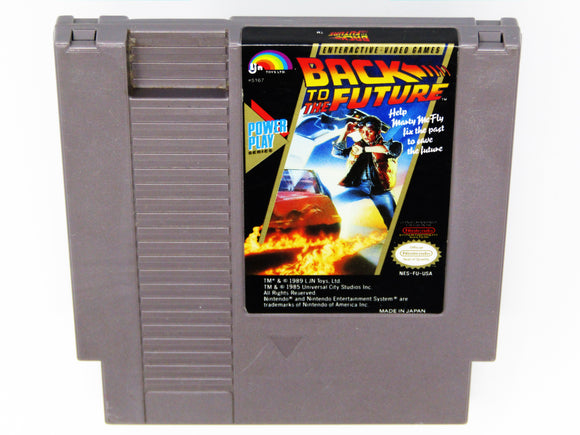 Back to the Future (Nintendo / NES)