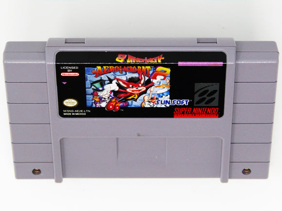 Aero the Acro-Bat 2 (Super Nintendo / SNES)