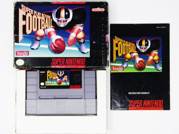 Super Play Action Football (Super Nintendo / SNES)